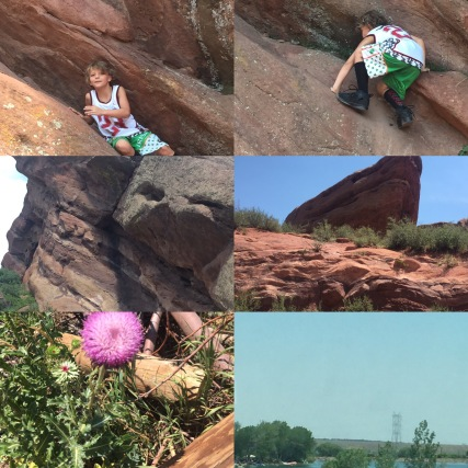 Family Walk to Red Rock